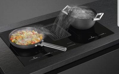Kuhalna plošča z integrirano napo